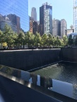 One of two reflecting pools - so beautiful and peaceful