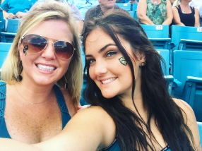 JAGS WIN with my cousin!