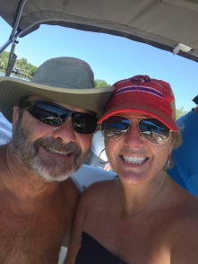Boat day with my dad!